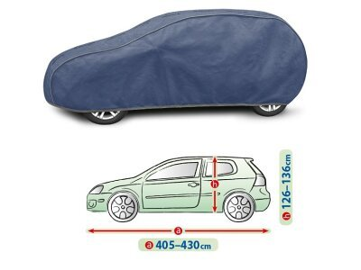 Cerada za auto Kegel Hatchback Blue L1, 405-430 cm