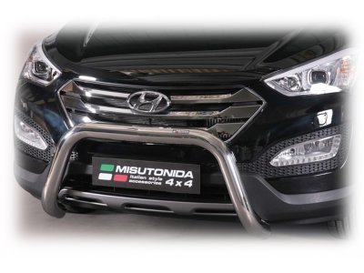 Cevna zaščita odbijača Misutonida - Hyundai Santa Fe 12- (76mm)