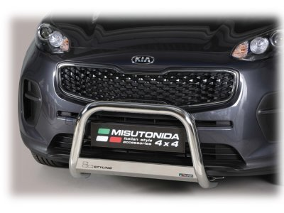 Cevna zaščita odbijača Misutonida - Kia Sportage 16- (63mm)