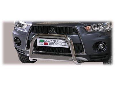 Cevna zaščita odbijača Misutonida - Mitsubishi Outlander 10-12 (63mm)
