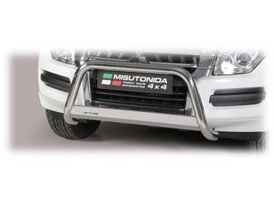 Cevna zaščita odbijača Misutonida - Mitsubishi Pajero 15- (63mm)