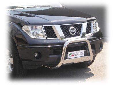 Cevna zaščita odbijača Misutonida - Nissan Navara 05-10 (63mm)