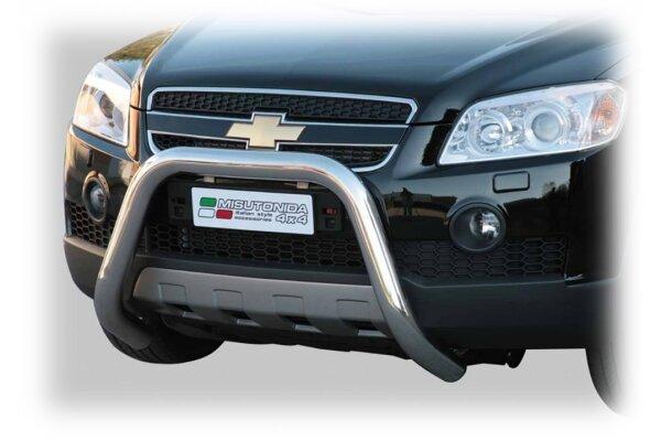 Cevna zaštita branika Misutonida - Chevrolet Captiva 06-10 (76mm)
