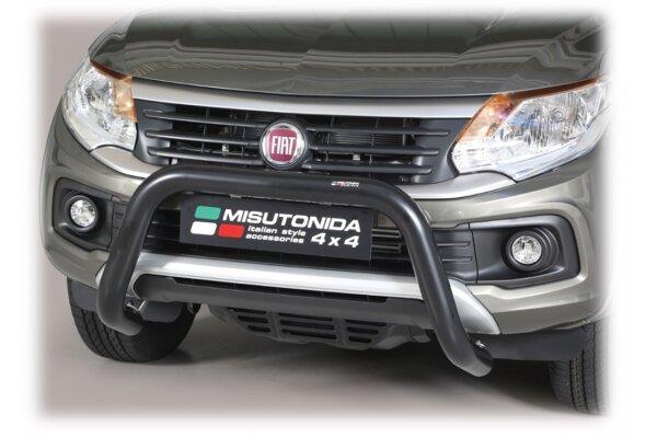 Cevna zaštita branika Misutonida - Fiat Fullback 16- (crni, 76mm)