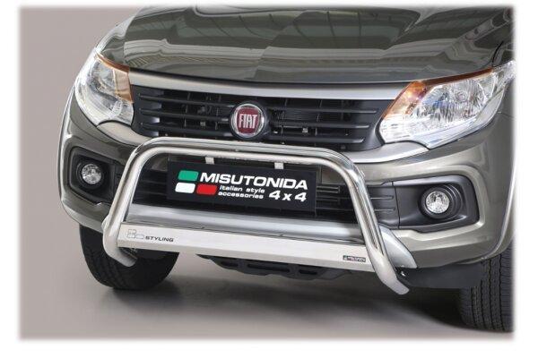 Cevna zaštita branika Misutonida - Fiat Fullback 16- (hrom, 63mm)
