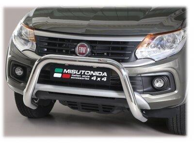 Cevna zaštita branika Misutonida - Fiat Fullback 16- (hrom, 76mm)