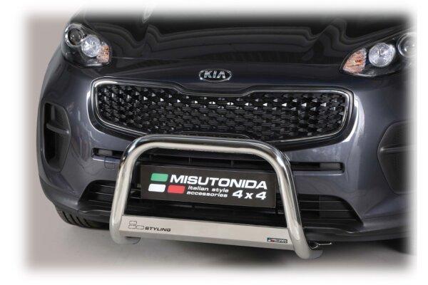 Cevna zaštita branika Misutonida - Kia Sportage 16- (63mm)