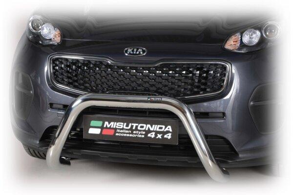 Cevna zaštita branika Misutonida - Kia Sportage 16- (76mm)