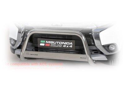 Cevna zaštita branika Misutonida - Mitsubishi Outlander 15- (63mm)