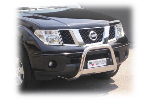 Cevna zaštita branika Misutonida - Nissan Navara 05-10 (63mm)