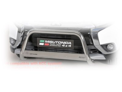 Cijevna zaštita Branika Misutonida - Mitsubishi Outlander 15- (63mm)
