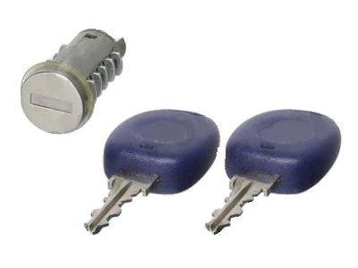 Cilinder prtljažnega prostora Fiat Punto 93-99 + ključi