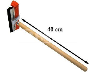 Čistilec za okna + lesen ročaj 50cm