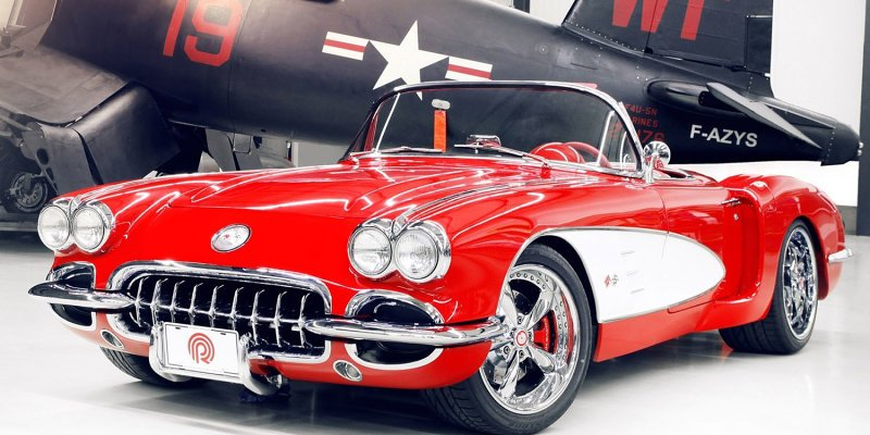 Legendarna američka vozila - Corvette, Camaro, Dodge RAM, Viper