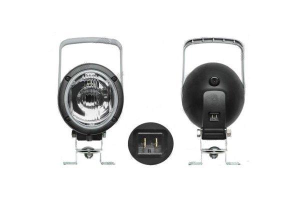 Delovna luč 104x120x100mm, z ročajem