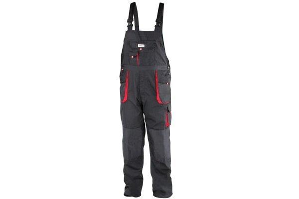 Delovne hlače z oprsnikom Yato, S velikost