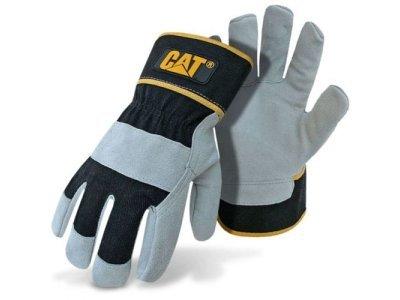 Delovne rokavice CAT - 013201L, usnje
