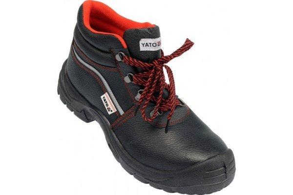 Delovni čevlji, zaščita protu urezninam, Poliuretan guma, velikost 45