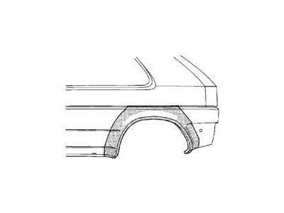 Dio blatobrana Opel ASTRA 91-98 3V
