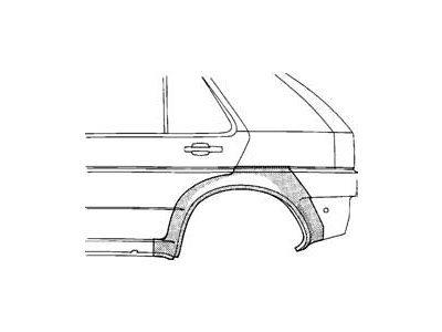 Dio blatobrana Opel ASTRA 91-98 5V