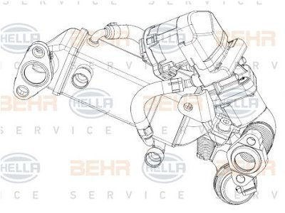EGR Ventil 8ME376745-371 - BMW