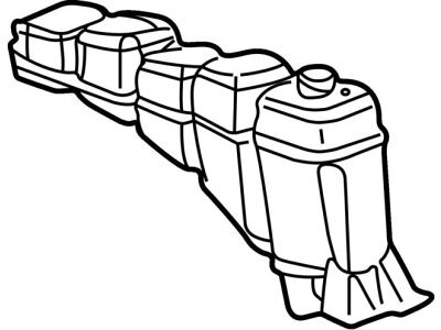 Ekspanzijska posuda 3291ZB-1 - Ford F-Series 99-03, bez poklopca