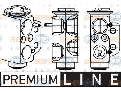 Ekspanzijski ventil 8UW351234471 - Volkswagen Transporter 03-