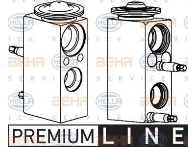 Ekspanzijski ventil Mercedes-Benz Razred C 07-14