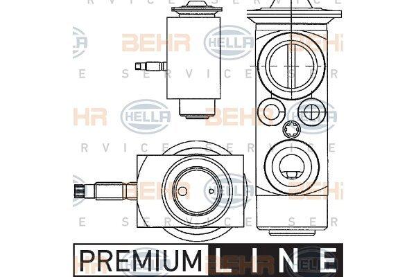 Ekspanzijski ventil Volvo S60 10-13