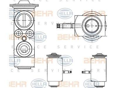 Ekspanzijski ventil Volvo S80 06-