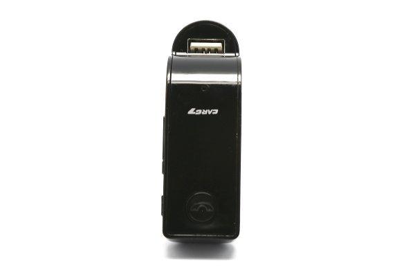 Elegantan FM odašiljač  USB, TF, AUX zlatno /crn