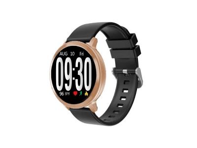 Elegantna pametna ura S8, pedometer, krvni tlak, zlata