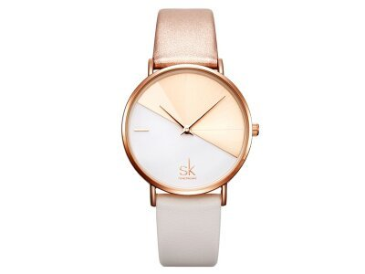 Elegantni ženski sat K0095, Roze