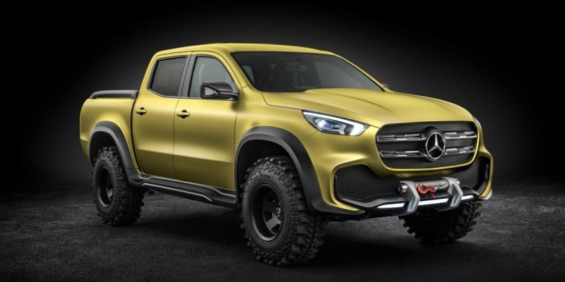 Mercedes Benz X Class – pick-up za zahtevne