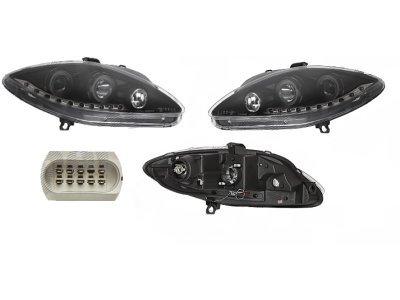 Far Seat Leon 05- DRL izgled crni