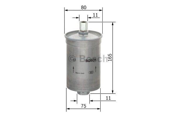 Filtar goriva BS0450905281 - Ssangyong Musso 95-05
