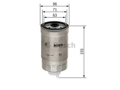 Filtar goriva FA5710ECO - Citroen 04-11