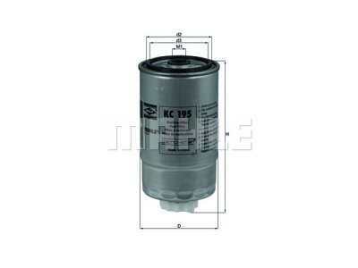 Filter goriva 101251 - Citroen, Fiat, Peugeot