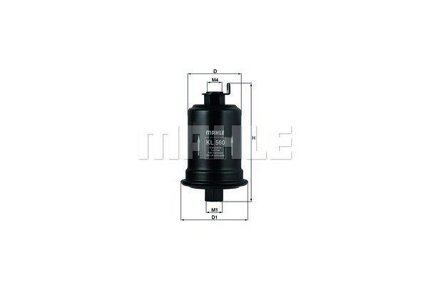 Filter goriva 103016 - Toyota
