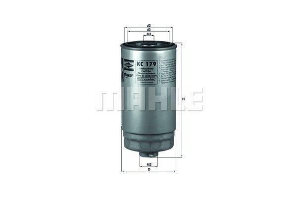 Filter goriva 103020 - Fiat, Kia