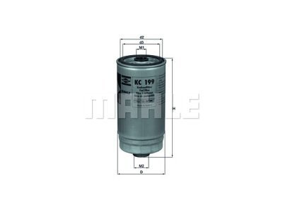 Filter goriva 103028 - Hyundai