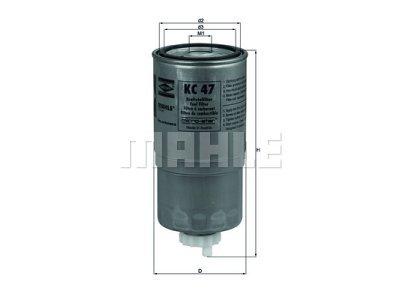 Filter goriva 103044 - BMW