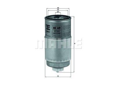 Filter goriva 103052 - Audi, Volkswagen, Volvo