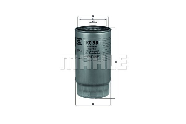 Filter goriva 103061 - BMW