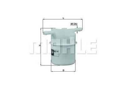 Filter goriva 103403 - Honda, Kia, Rover