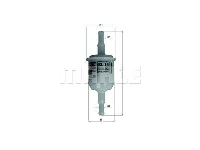 Filter goriva 103423 - Citroen, Fiat, Ford