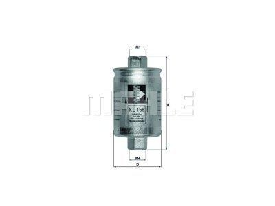 Filter goriva 103451 - Daweoo, Land Rover, Rover