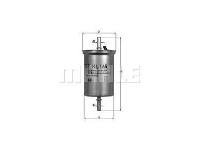 Filter goriva 103454 - Smart
