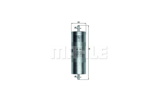 Filter goriva 103508 - BMW