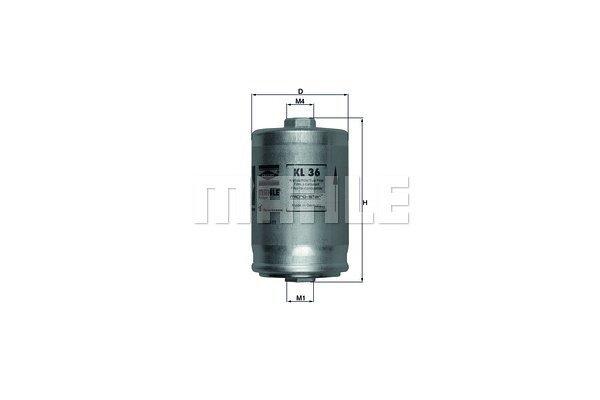 Filter goriva 103509 - Audi